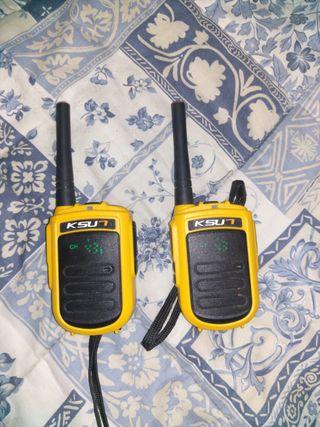 walkies UHF