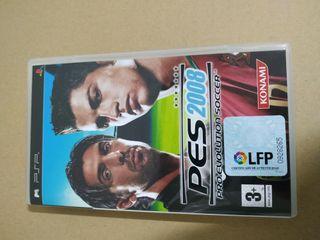 """juego para PSP """"PES 2008"""""""