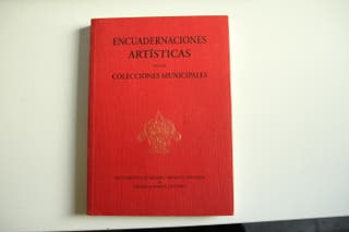 Libro Encuadernaciones artísticas