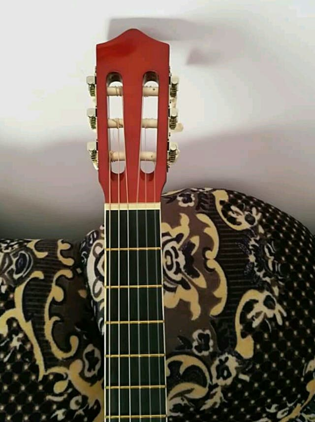A popular guitar