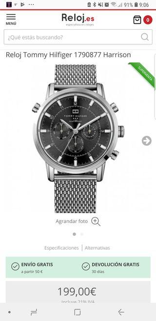 Reloj de pulsera Tommy hilfiger