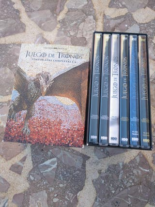 DVD JUEGO DE TRONOS