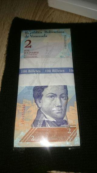 taco billetes 2 bolivares