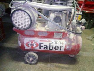 Compresor marca Faber