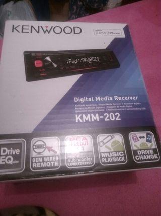 radio de coche kenwood