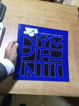 Yes Symphonic tour 2001 programa