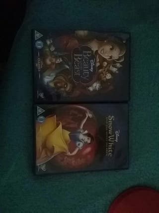 2 Disney Dvds never been used