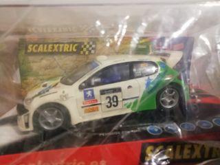 Coche Peugeot 206 WRC Criterium, scalextric