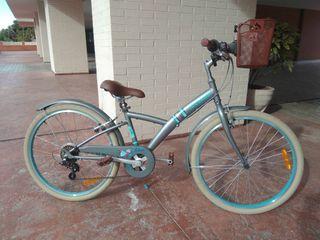 Bicicleta niña 24 pulgadas.