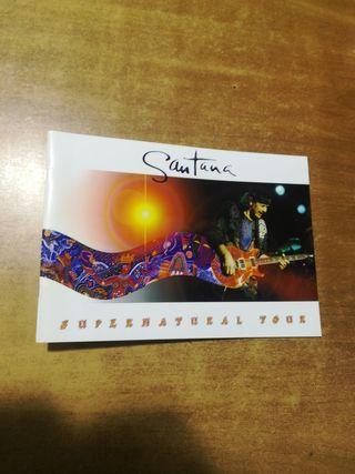 Santana programa super natural ture