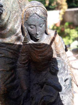 Escultura NACIMIENTO, L.M.Lafuente