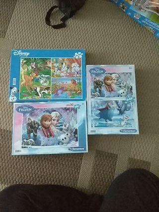 pack de puzzles