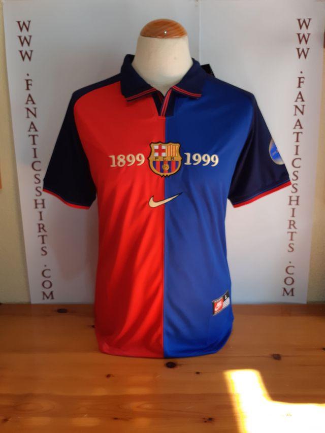 Camiseta Futbol FC BARCELONA 1999-2000 Nike (W) de segunda mano por ... 65ee026f8d9