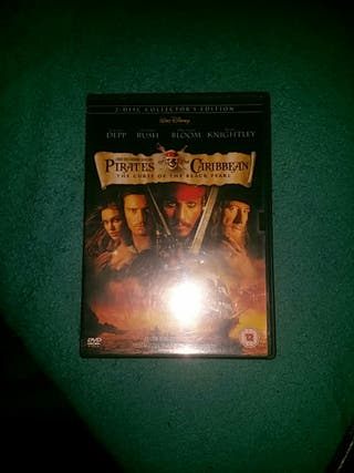 pirates of the Caribbean the curse of black pearl