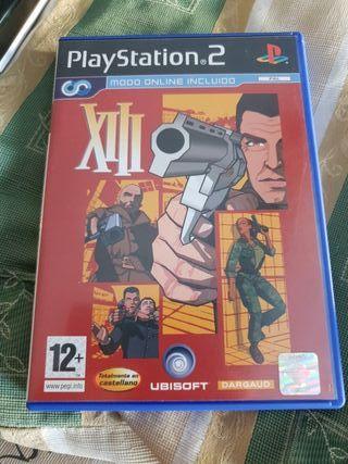 XIII PlayStation 2 videojuego en Castellano