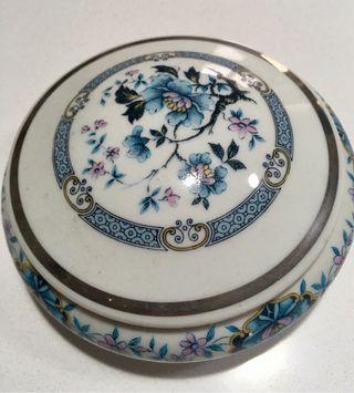 Antigüedades cajita de porcelana de limoges