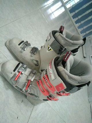 botas esquí Fischer vacuum