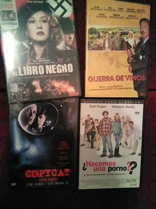 lote 4 películas