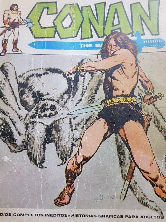 conan, la tela del dios araña.