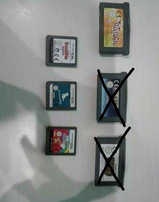 Juegos varios DS y Gameboy