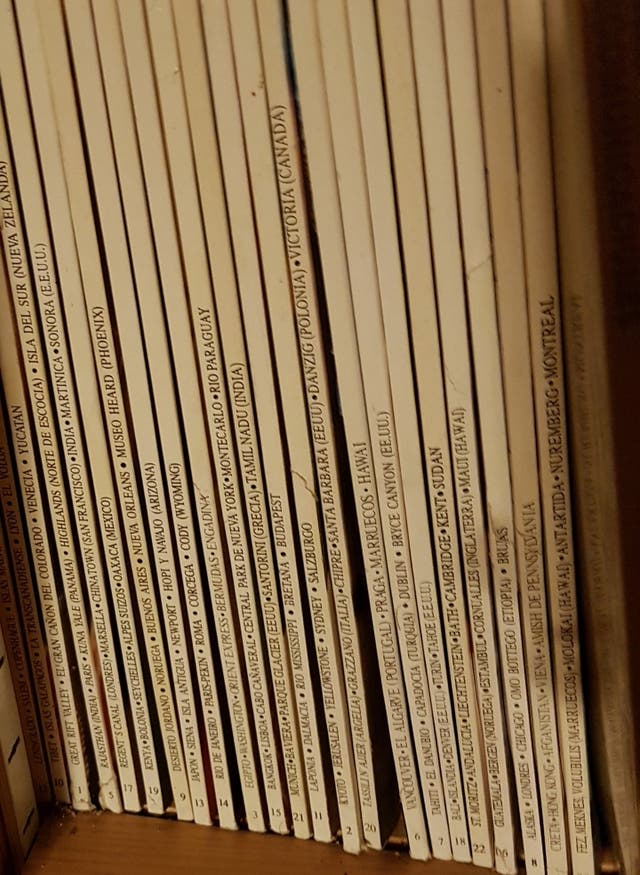 23 revistas Rutas del mundo