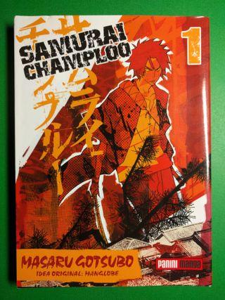 Comic manga Samurai Champloo tomo 1