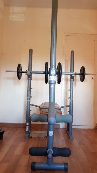 Máquina entrenamiento completa