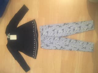 Brand new leggings and top set 18-24 months BHS