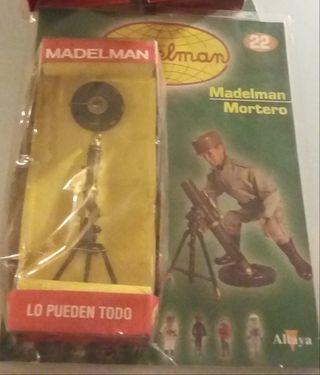 Mortero Madelman con fascículo/NUEVO