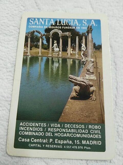 Santa Lucia Calendario.Calendario Fournier Santa Lucia Ano 1984 De Segunda Mano Por