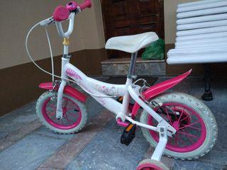 Bicicleta niña hasta 5 años