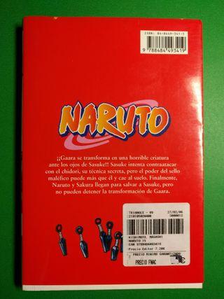 Comic manga naruto tomo 15