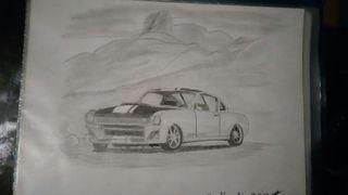 Dibujos hechos a mano con lápiz