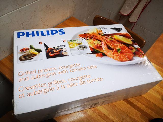Plancha de asar Philips