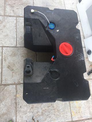 Depósito aguas limpias autocaravana