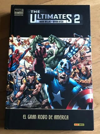 The Últimates 2 Marvel Deluxe tapa dura comics