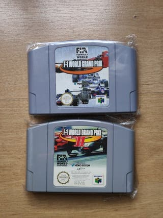 Pack F-1 World Grand Prix I y II