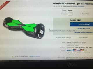 Hoverboard kawasaki Kx-pro 8.0a