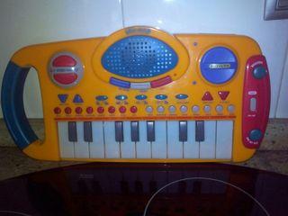 Piano órgano infantil