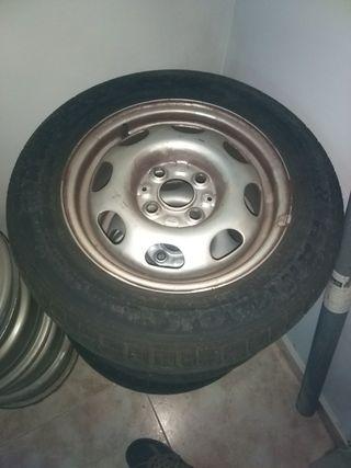Juego de ruedas Polo W 3 6 N