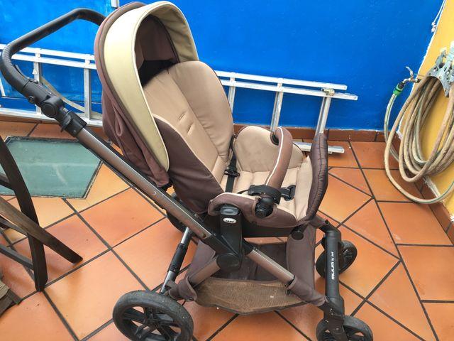 Carro bebé Jane muum. Con silla y capazo