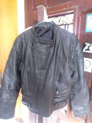 chaqueta moto para chica