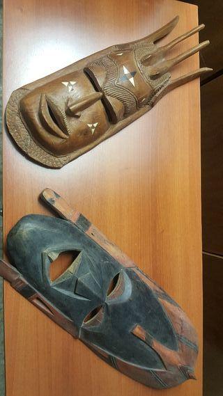 Máscaras africanas para decoración