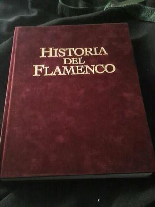 LIBRO ESPECTACULAR DE LA HISTORIA DEL FLAMEMCO
