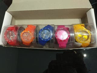 Pack Relojes colores