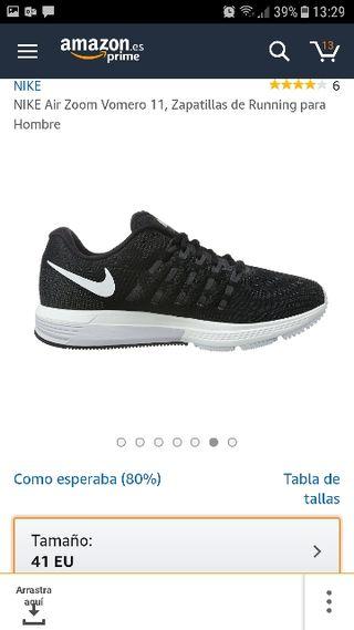 san francisco f4e20 c5f3f ... precio en tienda 145 E Adidas running run runer Nike zapatillas  deporte. NIKE VOMERO AIR ZOOM T 41 A ESTRENAR