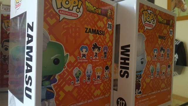 2 Pop animation Zamasu & Whis Dragon ball Super