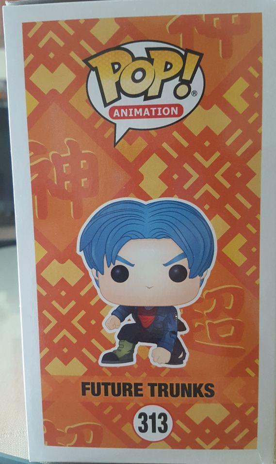 Pop animation Dragon Ball Super Trunks futuro