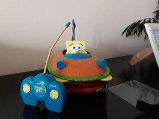 Coche Bob Esponja hamburguesa teledirigido