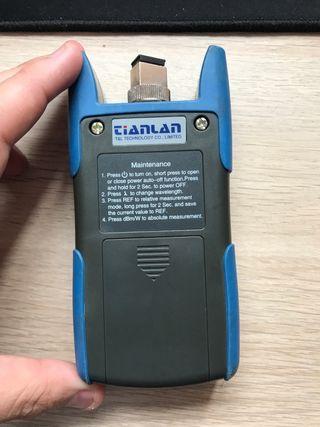 Medidor de potencia Fibra óptica + bolsa